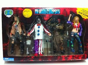 SEG House Of 1000 Corpses Action Figure Box Set COA Signed By Rob Zombie
