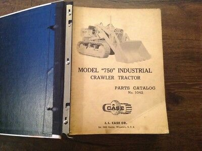 Case 750 800 1150 1042 D911 Crawler Tractor Parts Catalog Industrial