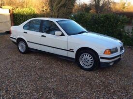 BMW 3 SERIES 316I SE AUTO 78k FSH (white) 1996