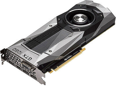 Nvidia   Founders Edition Geforce Gtx 1080 8Gb Gddr5x Pci Express 3 0 Graphic