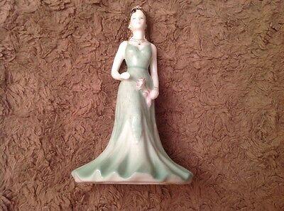 Coalport Debutante Janine Figurine 15cm High.