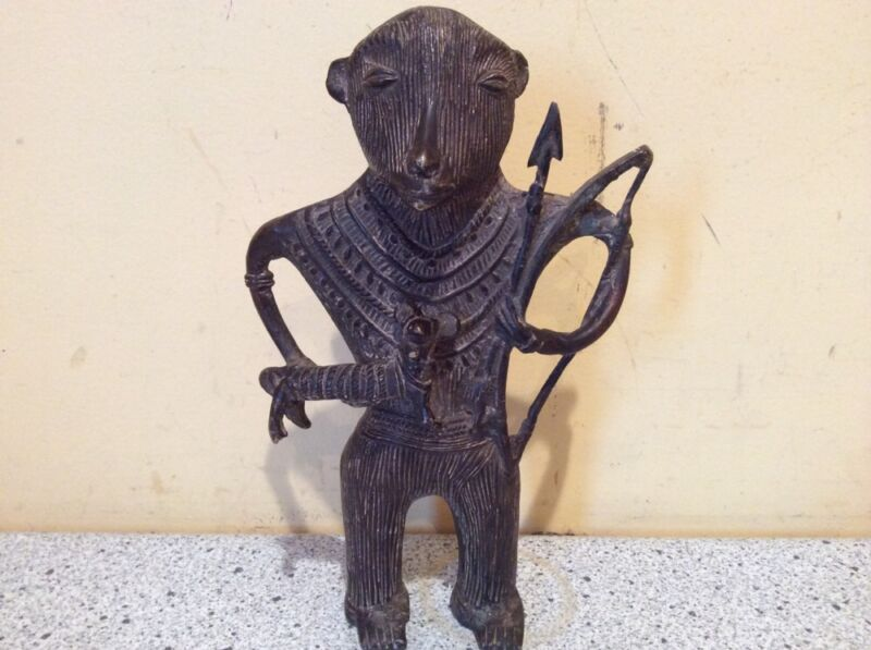 Antique Brass/Bronze Tribal Statue