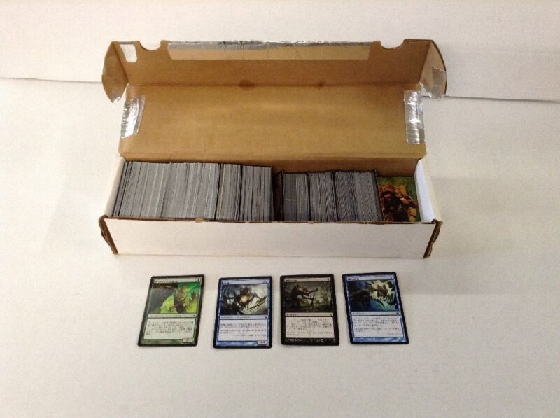Lot Of Foreign Language Magic The Gathering Cards about 700 Cards