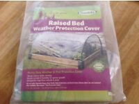 Haxnicks Raised Bed Weather Protection Poly Cover 1.2m x 1m x 0.5m high