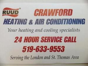 Furnaces from $1950 installed.  sales and service  St. Thomas London Ontario image 1