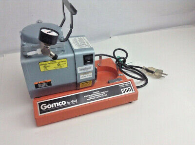 Gomco Portable Aspirator Vacuum Suction Pump 300 Wout Container