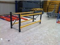 LINK51 HEAVY DUTY INDUSTRIAL WAREHOUSE PALLET RACKING WORK BENCH TOOL STATION