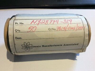 NOS PTFE Back Up Retaining Ring MS28774-329 qty 50 (D)
