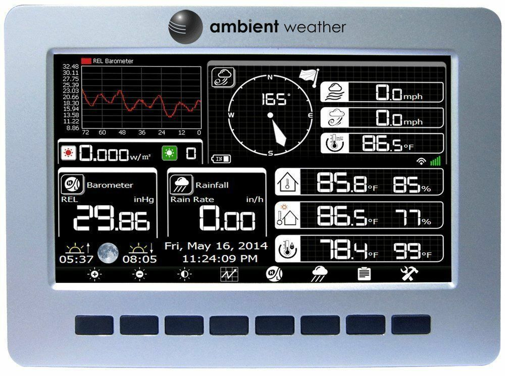 Best Home Weather Stations Ebay