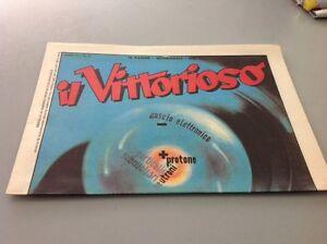 IL VITTORIOSO Anno XV # 37 - Supplemento Avvenire - Italia - L'oggetto può essere restituito - Italia