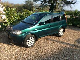 HONDA HR-V 4WD AUTO FSH (green) 2002