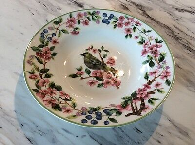 National Wildlife Federation Soup Cereal Bird Bowl Number Four