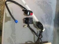 YAMAHA R6R 2014 PARTS MIRROR REAR AXLE CONTROLS HORN ETC