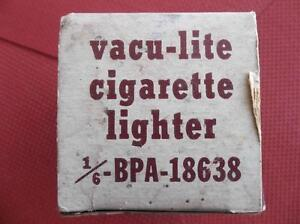 1951 Ford and Meteor Vacu-Lite automatic cigarette lighter London Ontario image 2