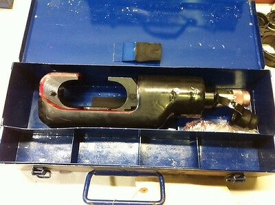Burndy 15 Ton Hydraulic Crimper 10000psi Compression Crimping Tool Huskie