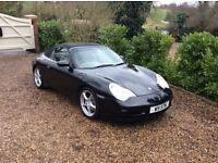 PORSCHE 911 MK 996 CARRERA 2 SATNAV PARKING SENSORS (black) 2002