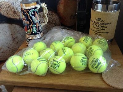 15 Dog Friendly Used Tennis Balls, Great bounce, Tennis, Dog Toy Games, FREEPOST