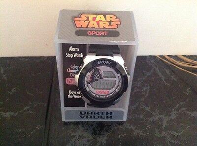Star Wars Sport  Darth Vader Digital Watch Disney (NEW IN BOX)