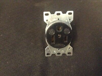 Hubbell Socket 50amp 250volt 3wire