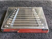 SNAP-ON 10pc 12-Point Metric Flank Drive® Plus Combination Spanner Set RRP:£399