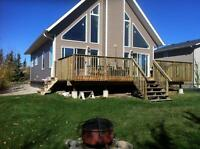 Beautiful spacious new cabin for rent at Brightsand Lake