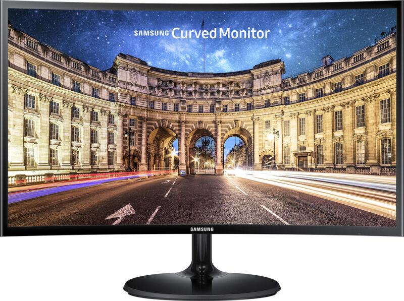 "Samsung CF390 Series C24F390FHN 24"" LED Curved HD FreeSync Monitor High glossy black LC24F390FHNXZA"