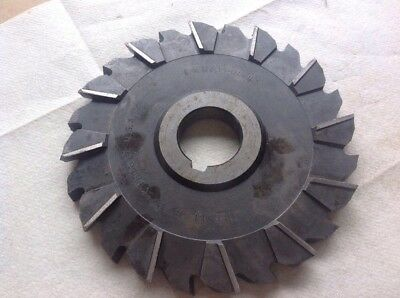 Side Milling Cutter 6x12x1 14 Hole Cleveland Twist Drill Co Usa.