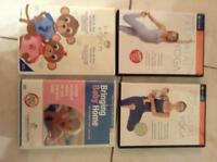 Baby care, baby einstein and pre/post natal yoga DVD bebe soin