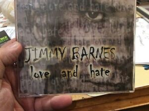 Jimmy Barnes Love and Hate Australian CD single (1999) ( COLD CHISEL)