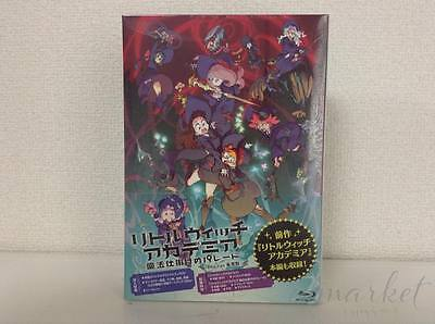 Little Witch Academia The Enchanted Parade Deluxe Edition Blu-ray CD Artbook F/S
