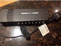 Antiference A280D 2 Inputs & 8 Outputs VHF / UHF Indoor Amplifier with IR Return