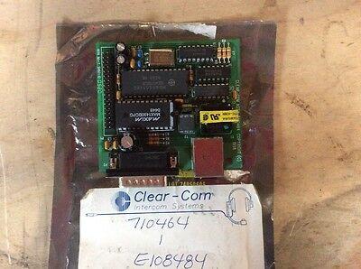 Clear-com Intercom System 710464 Module E108484