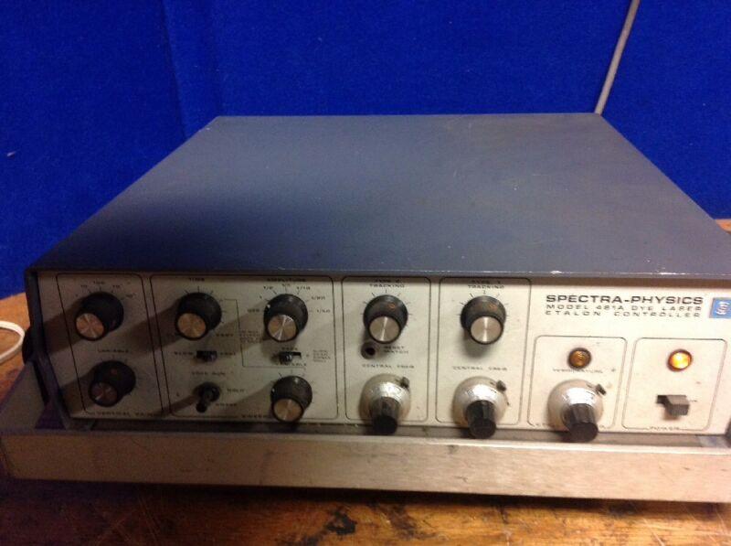Spectra-Physic Dye Laser Etalon Controller 481A