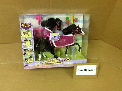 Grand Champions Magic Family Saddlebred Horse Play Set 26096 New Vintage