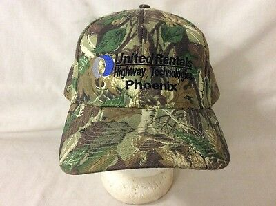 Trucker Hat Baseball Cap United Rentals Highway Technologies Phoenix Retro Nice