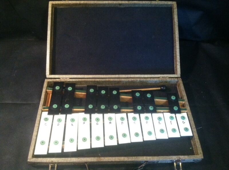 Vintage B F Kitching Co Xylophone # I 873