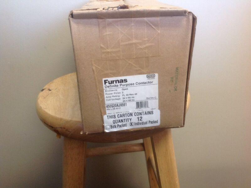 Furnas contactor-45EG20AJX591 1 Case (12 Per Case)