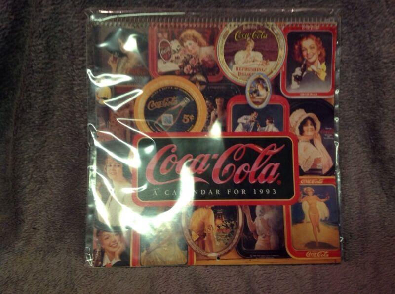 Coca Cola Coke - 1993 Wall Calendar - New !!