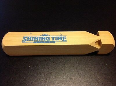 SHINING TIME Wooden Train Whistle