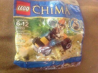 LEGO 30253 Chima Poly Bag Leonidas Jungle Dragster New Sealed FREE U.S SHIPPING!