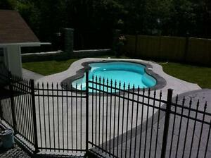 Stamped Concrete Pool Decks by ARTcrete