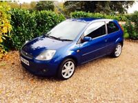 FORD FIESTA ZETEC BLUE £30 ROAD TAX (blue) 2008