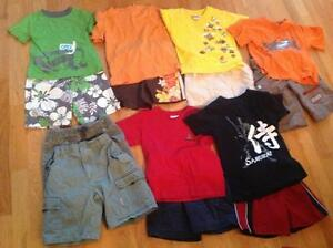 Boys short sets and shorts