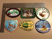 Hunting Patch Lot
