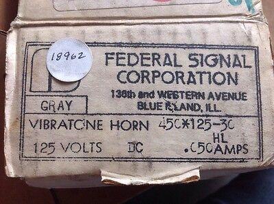 Federal Signal Vibratone Horn 450-125-30