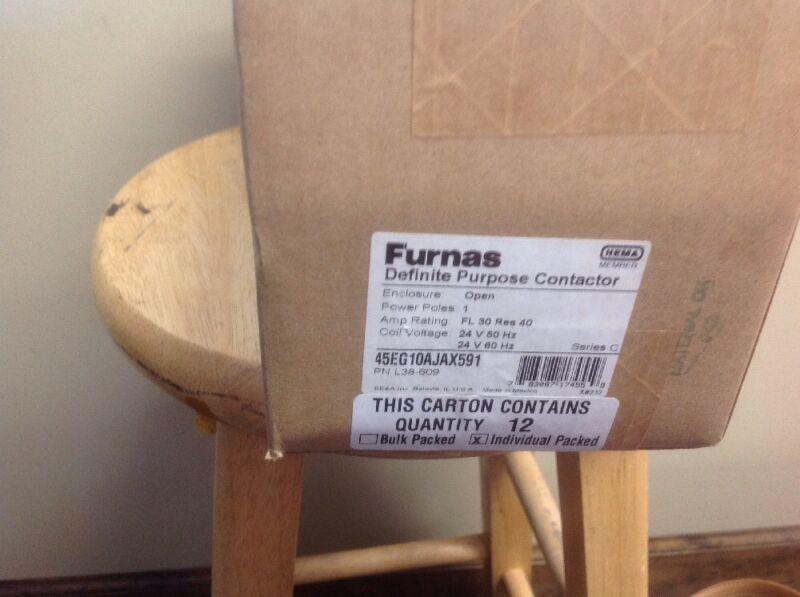 Furnas contactor 45EG10AJAX591    1 Case (12 in Case)
