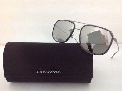 6aa511efc0 Dolce & Gabbana Occhiale da sole uomo 2165 goccia metallo lente specchio  grigio segunda mano Embacar
