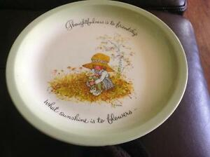 Holly Hobbie Collectors Edition Plate 1972 Belleville Belleville Area image 1