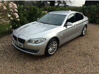 BMW 5 SERIES 530D SE 1 OWNER FSH (silver) 2010