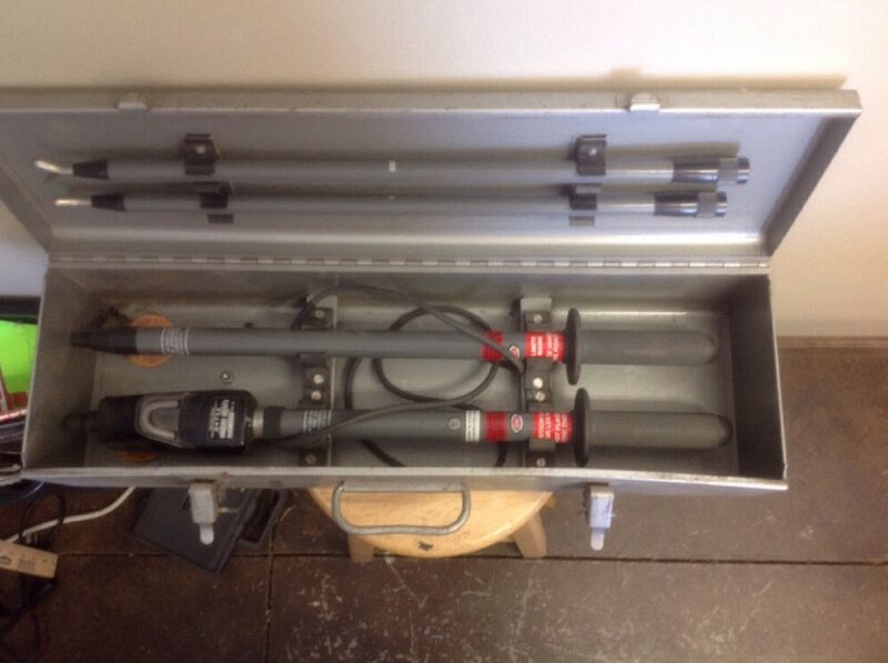 Detex Phasing Two Pole Tester CL-8/36-US, With Case
